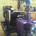 เครื่องสูบน้ำแบบฐานสกรีเป็นปั้มแบบ  self priming pump